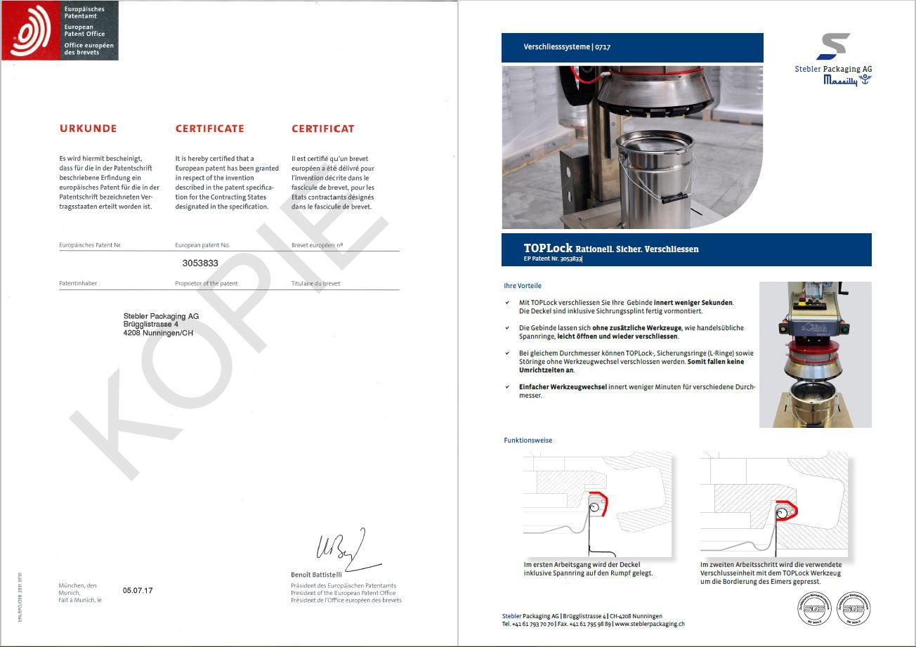 Urkunde_TOPLock_Patent_Doppelseite
